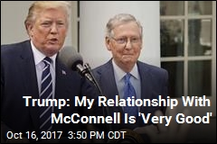 Trump: McConnell and I Are 'Closer Than Ever Before'