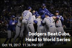 Dodgers Beat Cubs, Head to World Series