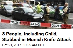 Man With Knife Attacks 8 in Munich; Suspect Arrested