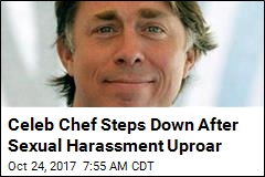 Celeb Chef Steps Down After Sexual Harassment Uproar