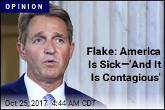Jeff Flake Says, Simply, 'Enough'