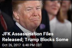 JFK Assassination Files Released; Trump Blocks Some