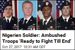 'Shifting Narrative' in How 4 Troops Were Left in Niger