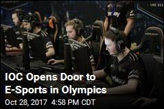 IOC Opens Door to E-Sports in Olympics