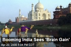 Booming India Sees 'Brain Gain'