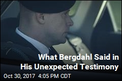 Bergdahl Unexpectedly Takes the Stand