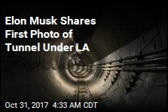 Elon Musk Reveals Experimental Tunnel Under LA