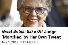 Premature Tweet Blows Ending of Great British Bake Off