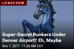 Denver's Airport Remains Magnet for Crazy Tales