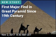 First Major Find in Great Pyramid Since 19th Century