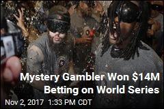 Mystery Gambler Won $14M Betting on World Series