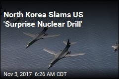 Pyongyang Slams US 'Surprise Nuclear Drill'