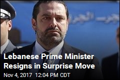 Lebanese Prime Minister Resigns in Surprise Move