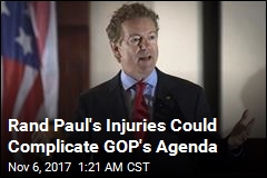 Rand Paul Has 5 Fractured Ribs, Lung Contusions