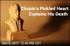 Secret Viewing of Chopin's Pickled Heart Provided Answer