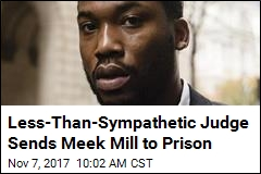Less-Than-Sympathetic Judge Sends Meek Mill to Prison