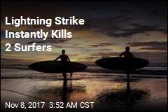 Lightning Strike Kills Surfing Ex-Soccer Pro