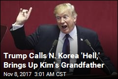Trump to Pyongyang: 'Do Not Try Us'