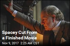 Spacey Cut From Finished Movie