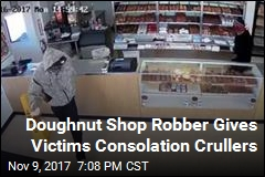 Suspect Hands Out Doughnuts During Robbery
