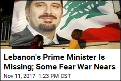 Lebanon's Prime Minister Is Missing; Some Fear War Nears