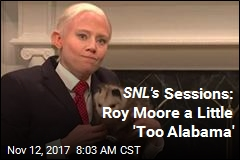 SNL's Sessions: Roy Moore a Little 'Too Alabama'