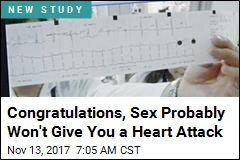 Congratulations, Sex Probably Won't Give You a Heart Attack
