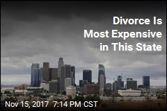 Divorce Is Most Expensive in This State
