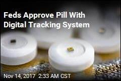 Feds Approve Pill With Digital Tracking System
