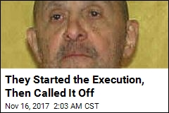 They Started the Execution, Then Called It Off