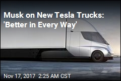 Tesla Unveils Electric Big Rigs