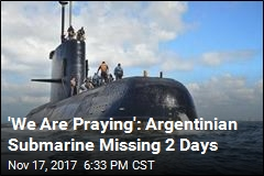 NASA Joins Search for Missing Argentinian Submarine