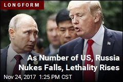As Number of US, Russia Nukes Falls, Lethality Rises