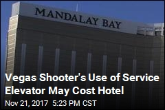 Vegas Lawsuits Cite Shooter's Use of Service Elevator