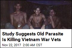 Study Suggests Old Parasite Is Killing Vietnam War Vets