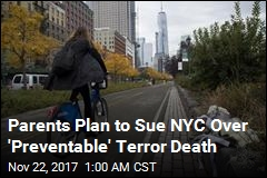 NYC Terror Victim's Parents to Sue City