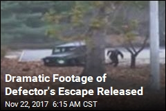 Dramatic Footage of Defector's Escape Released