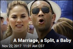 A Split, a Marriage, a Baby