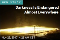 Light Pollution Threatens Darkness Almost Everywhere