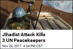 3 UN Peacekeepers, Malian Soldier Killed in Jihadist Attack
