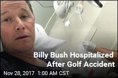 Billy Bush Hit in Head by Golf Ball