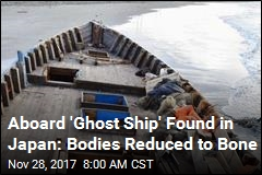 Japan Finds 'Ghost Ship' With Skeletonized Remains