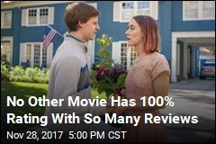 Lady Bird Just Set a Rotten Tomatoes Record
