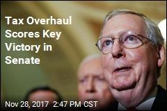 After Trump Visit, Senate Panel Clears Tax Plan