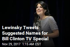 Monica Lewinsky 'Fixes' Title of TV Special on Bill Clinton