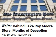 WaPo : Behind Fake Roy Moore Story, Months of Deception