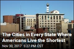 The Cities in Every State Where Americans Live the Shortest