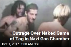 Outrage Over Naked Game of Tag in Nazi Gas Chamber