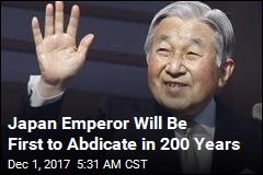 Japan's Emperor Is Abdicating