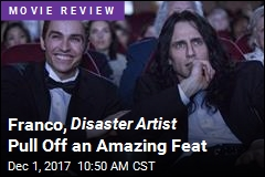 James Franco 'Superb' in Disaster Artist